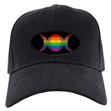 Rainbow Triple Goddess Symbol Baseball Hat
