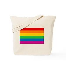 Gay Pride Rainbow Flag Tote Bag