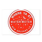 Where Ya At Water Meter Postcards (Package of 8)