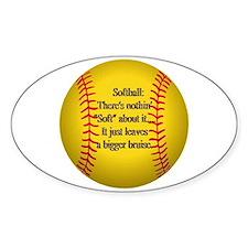 """Girls Fastpitch Softball"" Decal"