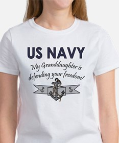 NAVY Granddaughter Defending Tee