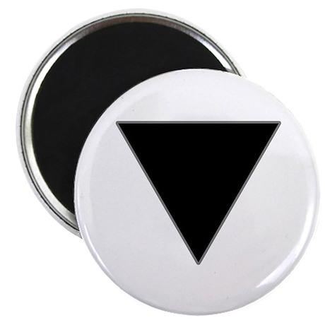 Black Triangle Lesbian Pride Magnet