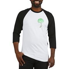 Green Carnation Baseball Jersey