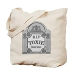 RIP Toxie the Junk Housing Bond Tote Bag