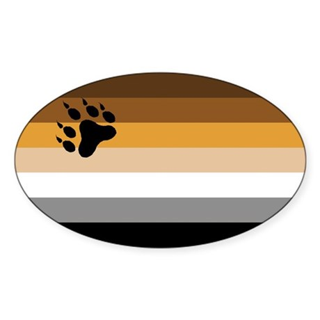 Bear Pride Sticker (Oval)