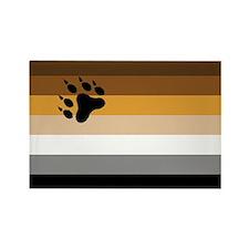 Bear Pride Rectangle Magnet