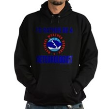 I'D RATHER BE A METEOROLOGIST Hoodie