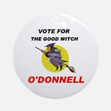 ELECT THE GOOD WITCH Ornament (Round)