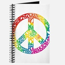 Rainbow Peace Symbols Journal
