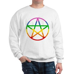 Rainbow Pentacle Sweatshirt