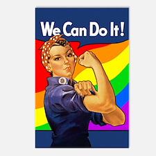 Rainbow Rosie Postcards (Package of 8)