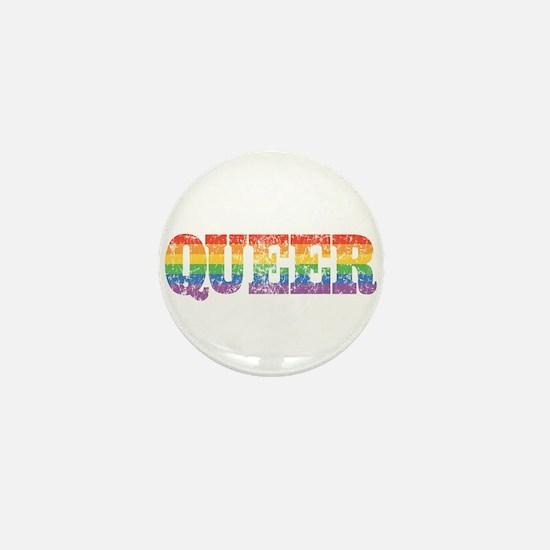 Retro Queer Mini Button
