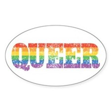 Retro Queer Decal