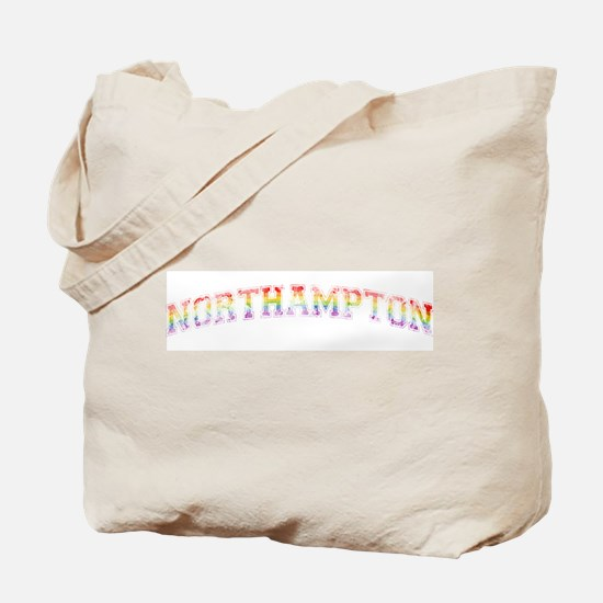 Retro Rainbow Northampton Tote Bag