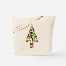 Diversity Christmas Tree Tote Bag