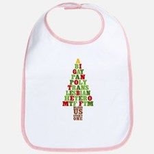 Diversity Christmas Tree Bib