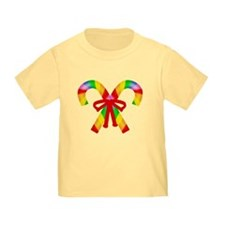 Rainbow Candy Canes T