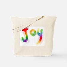 Rainbow Joy Tote Bag