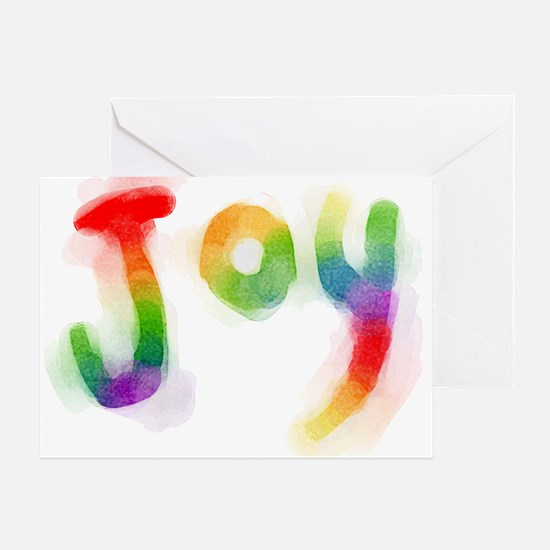 Rainbow Joy Greeting Card