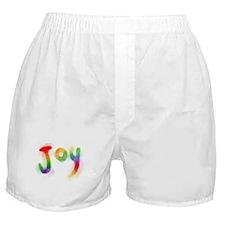 Rainbow Joy Boxer Shorts