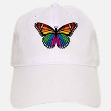 Rainbow Butterfly Baseball Baseball Cap