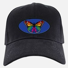 Rainbow Butterfly Baseball Hat
