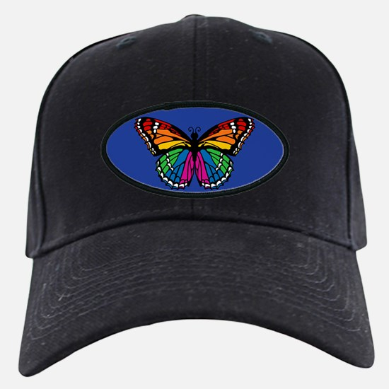Rainbow Butterfly Baseball Hat