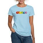 Rainbow Daisies Women's Light T-Shirt