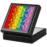 Rainbow Daisies Keepsake Box