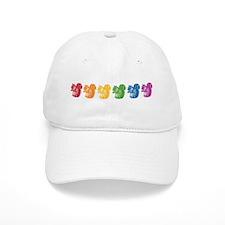 Rainbow Squirrels Baseball Cap