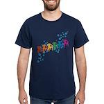Rainbow Patio Chairs Dark T-Shirt