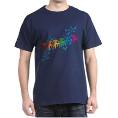 Rainbow Patio Chairs T-Shirt