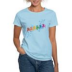 Rainbow Patio Chairs Women's Light T-Shirt