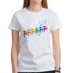 Rainbow Patio Chairs Women's T-Shirt