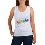 Rainbow Patio Chairs Women's Tank Top