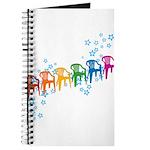 Rainbow Patio Chairs Journal