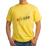 Rainbow Patio Chairs Yellow T-Shirt