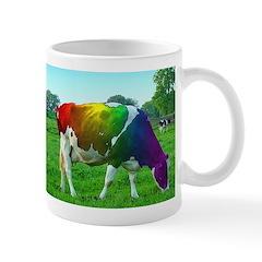 Rainbow Cow Mug
