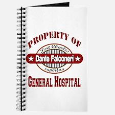 Property of Dante Falconeri Journal
