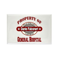 Property of Dante Falconeri Rectangle Magnet
