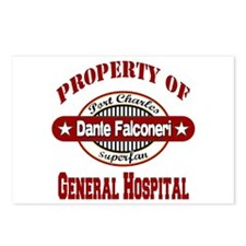 Property of Dante Falconeri Postcards (Package of