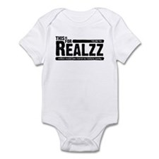 For Realzz Infant Bodysuit