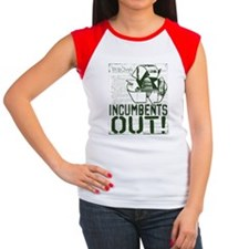 INcumbents OUT Women's Cap Sleeve T-Shirt