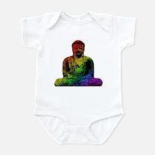 Rainbow Buddha Infant Creeper