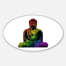 Rainbow Buddha Decal