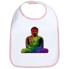 Rainbow Buddha Bib