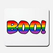 Halloween Rainbow BOO Mousepad