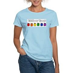 Rainbow Halloween Trick Or Treat T-Shirt