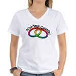 Marriage Equality Women's V-Neck T-Shirt