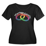 Marriage Equality Women's Plus Size Scoop Neck Dar